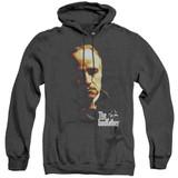 Godfather Don Vito Adult Heather Hoodie Sweatshirt Black