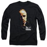 Godfather Don Vito Adult Long Sleeve T-Shirt Black