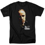 Godfather Don Vito Adult 18/1 T-Shirt Black