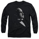 Godfather Graphic Vito Adult Long Sleeve T-Shirt Black