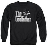 Godfather Logo Adult Crewneck Sweatshirt Black