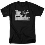 Godfather Logo Adult 18/1 T-Shirt Black