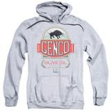 Godfather Genco Olive Oil Adult Pullover Hoodie Sweatshirt Athletic Heather