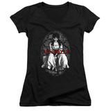 Annabelle Annabelle Junior Women's V-Neck T-Shirt Black