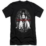 Annabelle Annabelle Premium Adult 30/1 T-Shirt Black