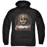 Annabelle Annabelle Portrait Adult Pullover Hoodie Sweatshirt Black