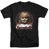 Annabelle Annabelle Portrait Adult 18/1 T-Shirt Black