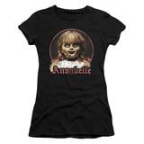 Annabelle Annabelle Portrait Junior Women's T-Shirt Black
