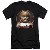 Annabelle Annabelle Portrait Premium Adult 30/1 T-Shirt Black