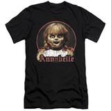 Annabelle Annabelle Portrait Adult 30/1 T-Shirt Black