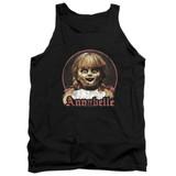 Annabelle Annabelle Portrait Adult Tank Top T-Shirt Black
