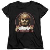 Annabelle Annabelle Portrait Women's T-Shirt Black
