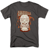 Annabelle Annabelle Illustration Adult 18/1 T-Shirt Charcoal