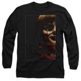 Annabelle Doll Tear Adult Long Sleeve T-Shirt Black