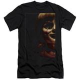 Annabelle Doll Tear Premium Adult 30/1 T-Shirt Black