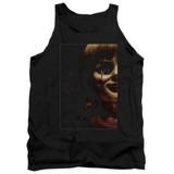 Annabelle Doll Tear Adult Tank Top T-Shirt Black