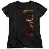 Annabelle Doll Tear Women's T-Shirt Black