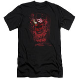 A Nightmare on Elm Street One Two Freddy's Coming For You Adult 30/1 T-Shirt Black
