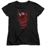 A Nightmare on Elm Street One Two Freddy's Coming For You Women's T-Shirt Black