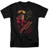 A Nightmare on Elm Street Freddy Claws Adult 18/1 T-Shirt Black