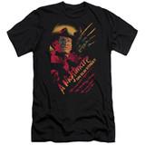A Nightmare on Elm Street Freddy Claws Adult 30/1 T-Shirt Black