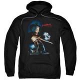 A Nightmare on Elm Street Elm Street Poster Adult Pullover Hoodie Sweatshirt Black