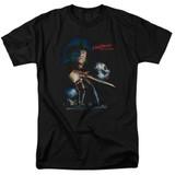 A Nightmare on Elm Street Elm Street Poster Adult 18/1 T-Shirt Black