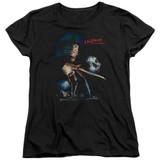 A Nightmare on Elm Street Elm Street Poster Women's T-Shirt Black