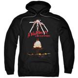 A Nightmare on Elm Street Alternate Poster Adult Pullover Hoodie Sweatshirt Black