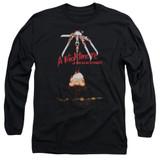 A Nightmare on Elm Street Alternate Poster Adult Long Sleeve T-Shirt Black
