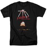 A Nightmare on Elm Street Alternate Poster Adult 18/1 T-Shirt Black