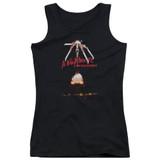 A Nightmare on Elm Street Alternate Poster Junior Women's Tank Top T-Shirt Black
