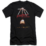 A Nightmare on Elm Street Alternate Poster Premium Adult 30/1 T-Shirt Black