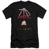 A Nightmare on Elm Street Alternate Poster Adult 30/1 T-Shirt Black