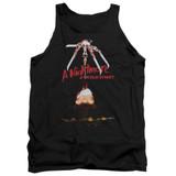 A Nightmare on Elm Street Alternate Poster Adult Tank Top T-Shirt Black