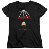 A Nightmare on Elm Street Alternate Poster Women's T-Shirt Black