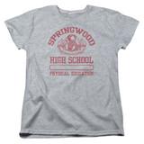 A Nightmare on Elm Street Springwood High Women's T-Shirt Athletic Heather