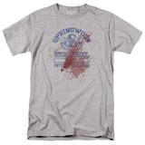 A Nightmare on Elm Street Springwood High Victim Adult 18/1 T-Shirt Athletic Heather