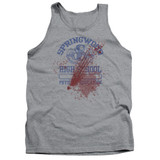 A Nightmare on Elm Street Springwood High Victim Adult Tank Top T-Shirt Athletic Heather