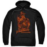 A Nightmare on Elm Street Chest Of Souls Adult Pullover Hoodie Sweatshirt Black