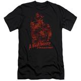A Nightmare on Elm Street Chest Of Souls Premium Adult 30/1 T-Shirt Black