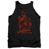 A Nightmare on Elm Street Chest Of Souls Adult Tank Top T-Shirt Black