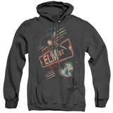 A Nightmare on Elm Street Elm St Adult Heather Hoodie Sweatshirt Black