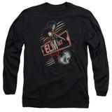A Nightmare on Elm Street Elm St Adult Long Sleeve T-Shirt Black