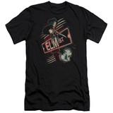 A Nightmare on Elm Street Elm St Premium Adult 30/1 T-Shirt Black