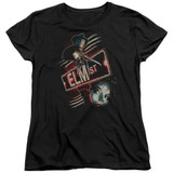 A Nightmare on Elm Street Elm St Women's T-Shirt Black
