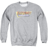 Fast Times at Ridgemont High Distressed Logo Adult Crewneck Sweatshirt Athletic Heather - Clearance