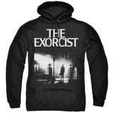 The Exorcist Poster Adult Pullover Hoodie Sweatshirt Black