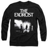 The Exorcist Poster Adult Long Sleeve T-Shirt Black