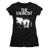 The Exorcist Poster Junior Women's T-Shirt Black